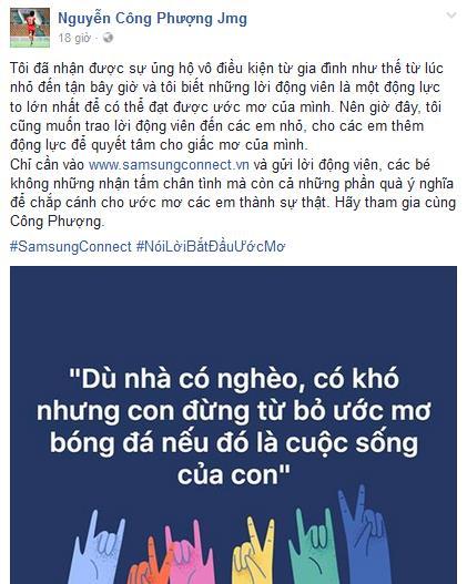 Sao Việt đồng loạt tham gia trào lưu Nói lời bắt đầu ước mơ - Ảnh 6.