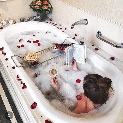 Tuyệt chiêu thư giãn trong phòng tắm mà mọi cô gái nên thử - Ảnh 4.