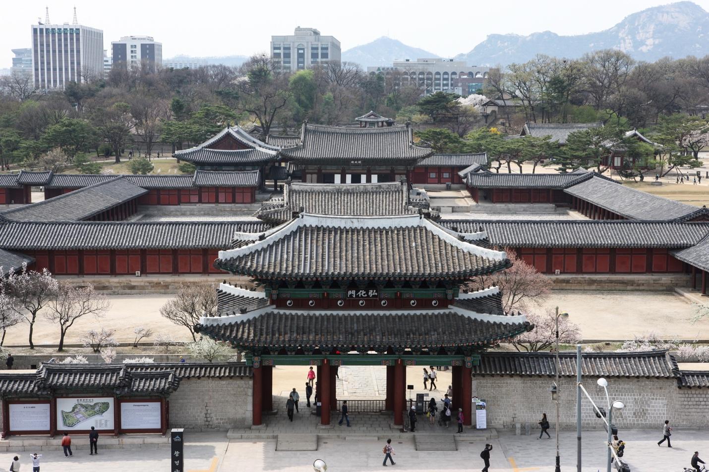 Kết quả hình ảnh cho ảnh đẹpCung điện Gyeongbok