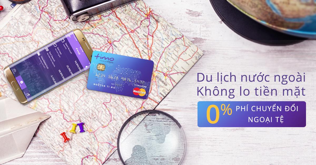 Thẻ tín dụng 0% phí chuyển đổi ngoại tệ đầu tiên tại Việt Nam