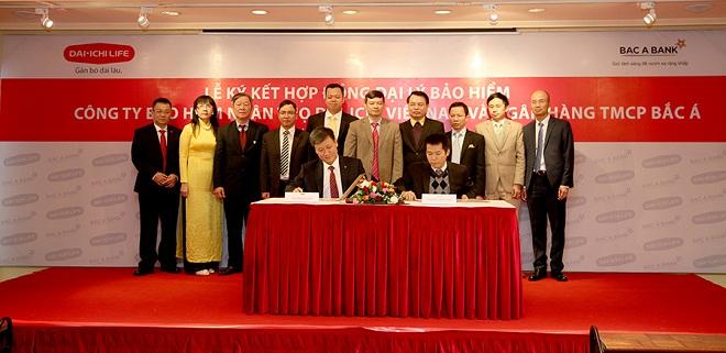 Ngân hàng Bắc Á bắt tay hợp tác với bảo hiểm Dai-ichi