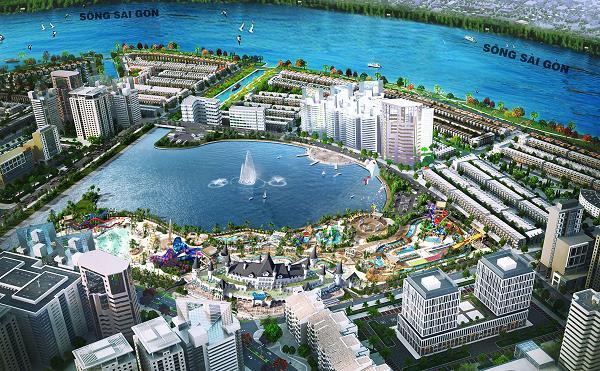 Công viên giải trí Ocean World Ho Chi Minh rộng 21ha.