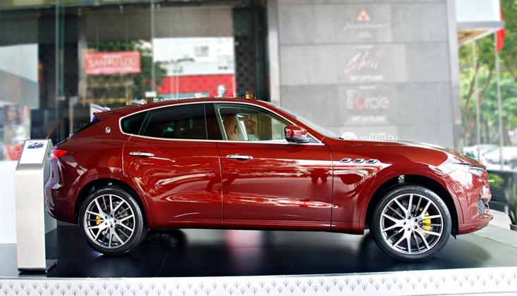 Maserati Levante - Cơn gió Địa Trung Hải giữa lòng Sài Gòn