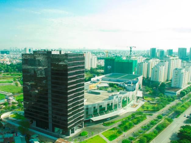 Cơ sở hạ tầng Khu Nam Sài Gòn đang được đầu tư mạnh mẽ.