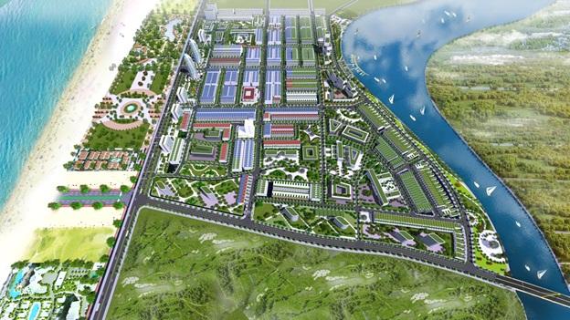 Đô thị thương mại biển Sea View, nơi thương mại kết hợp nghỉ dưỡng