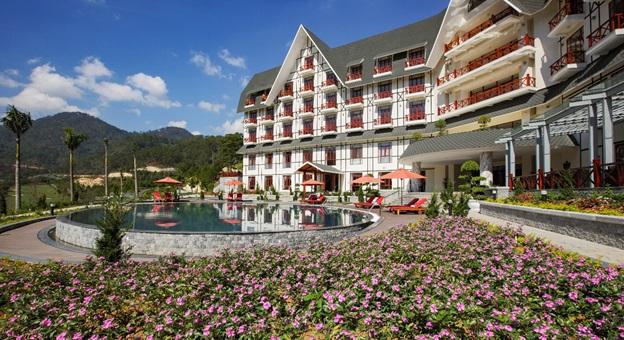 Dự án khách sạn Swiss-Belresort Tuyền Lâm, Đà Lạt 151 phòng tại khu du lịch quốc gia Hồ Tuyền Lâm của SAM.