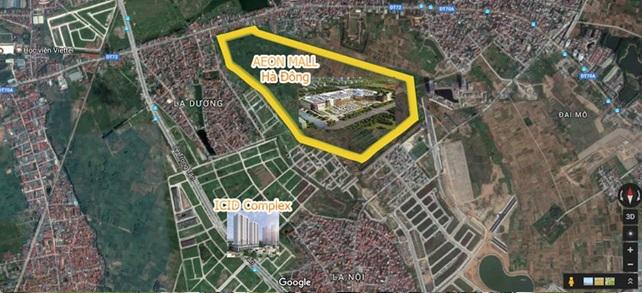Sắp xuất hiện căn hộ giá chỉ 1 tỷ đồng cạnh Aeon Mall Hà Đông