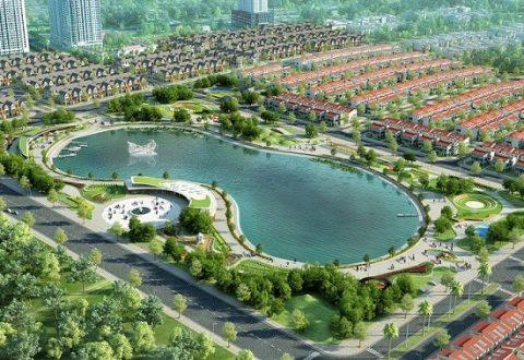 Môi trường sinh thái mang lại sức khỏe cho cư dân An Khang Villa.
