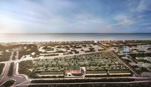 The Coast Villas nằm tại điểm giao nhau giữa trục trung tâm Bãi Trường với trục trung tâm Hội nghị và Quảng trường biển.