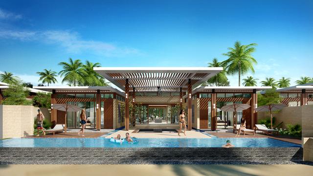Không gian tinh tế cùng sự biệt lập riêng tư với đầy đủ các tiện ích 5 sao + của Vanesea Villa tại dự án Pan Pacific Danang Resort.