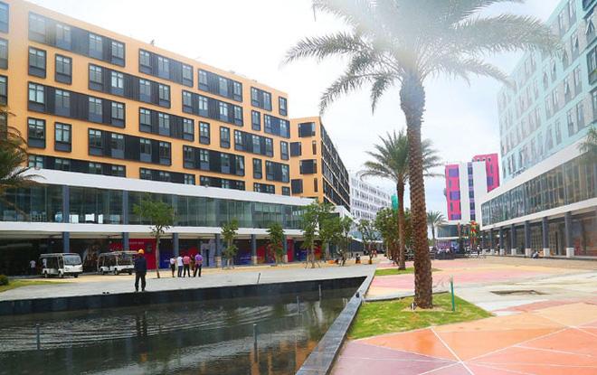 Một góc khu Boutique Hotel đã vận hành tại Cocobay.
