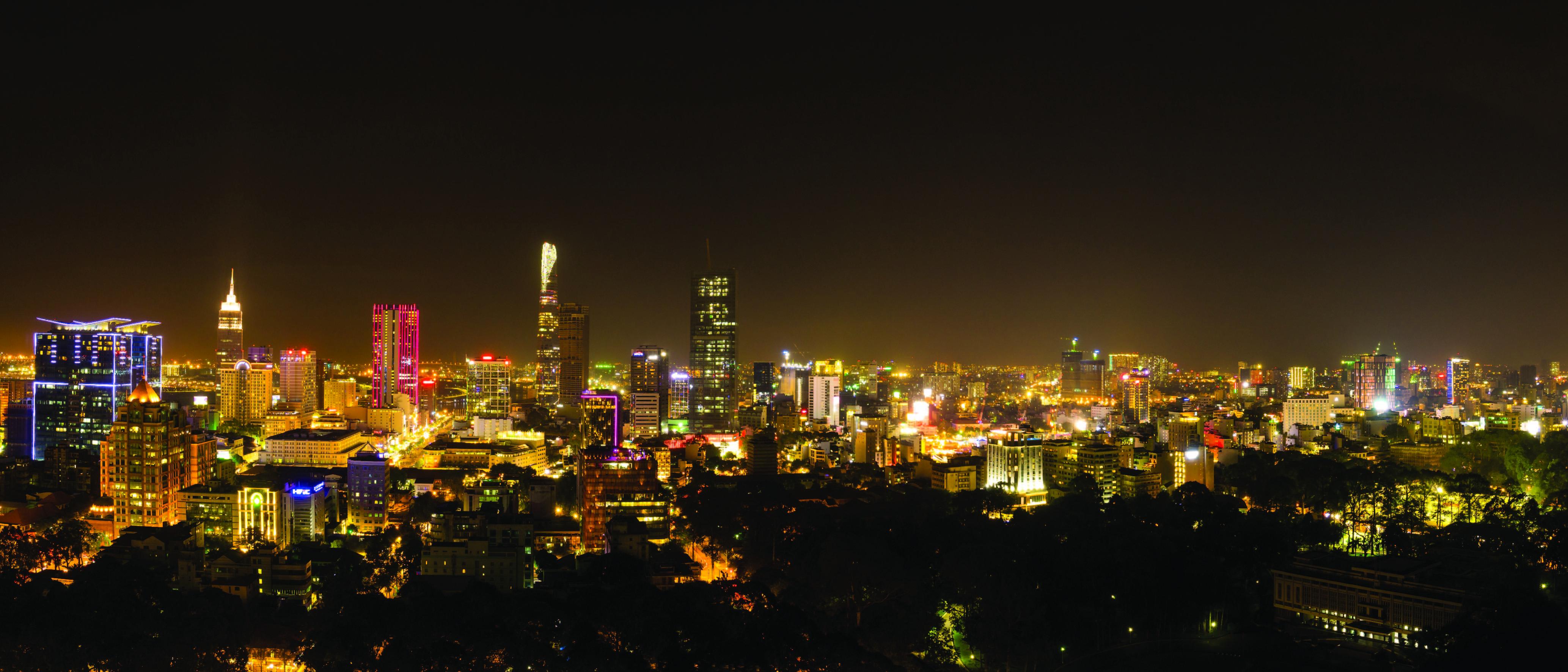 Những dự án án căn hộ siêu sang ở trung tâm Sài Gòn.