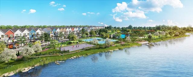 Các căn nhà phố liên kế 75m2 tại Park Riverside Premium đã đáp ứng đầy đủ tiêu chí mua nhà của cư dân hiện đại.