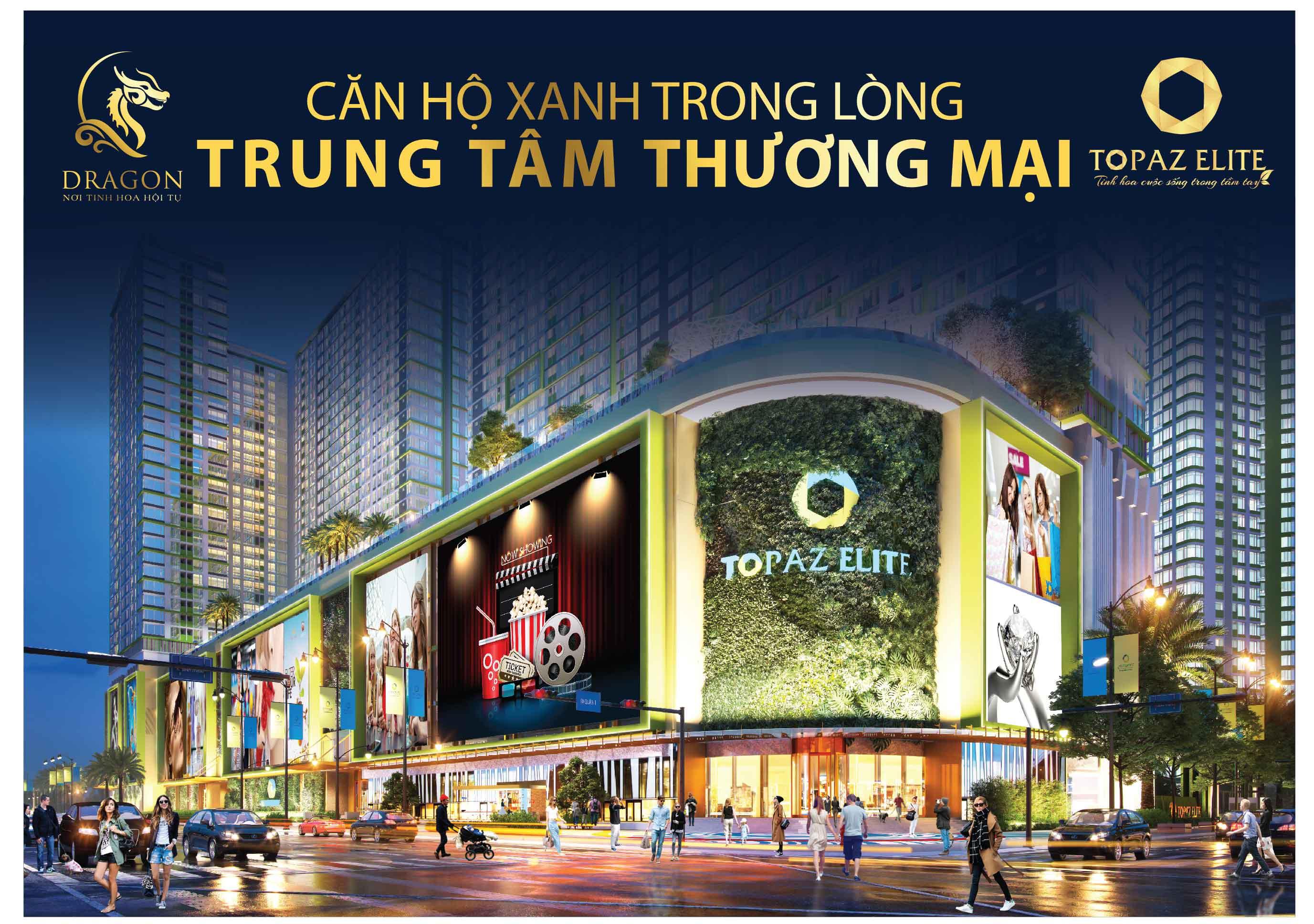 Topaz Elite nằm trên mặt các con phố Cao Lỗ và Tạ Quang Bửu (TP HCM).