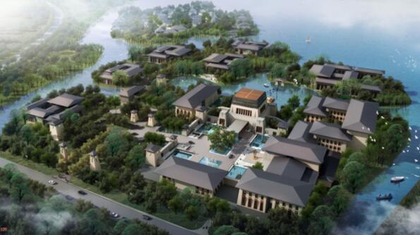 Quần thể nghỉ dưỡng Grand Hotel Spa tại Ấn Độ của Swisstouches Hotels & Resorts.