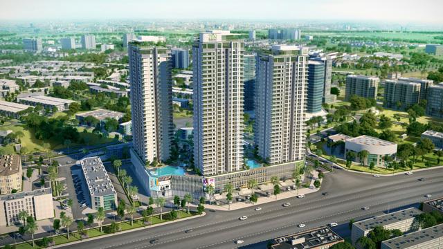 The ZEN Residence – căn hộ cao tầng thông minh trong lòng thành thị xanh.