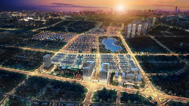 An Khang Villa tọa lạc ở địa điểm đẹp trong Khu thành phố Dương Nội.