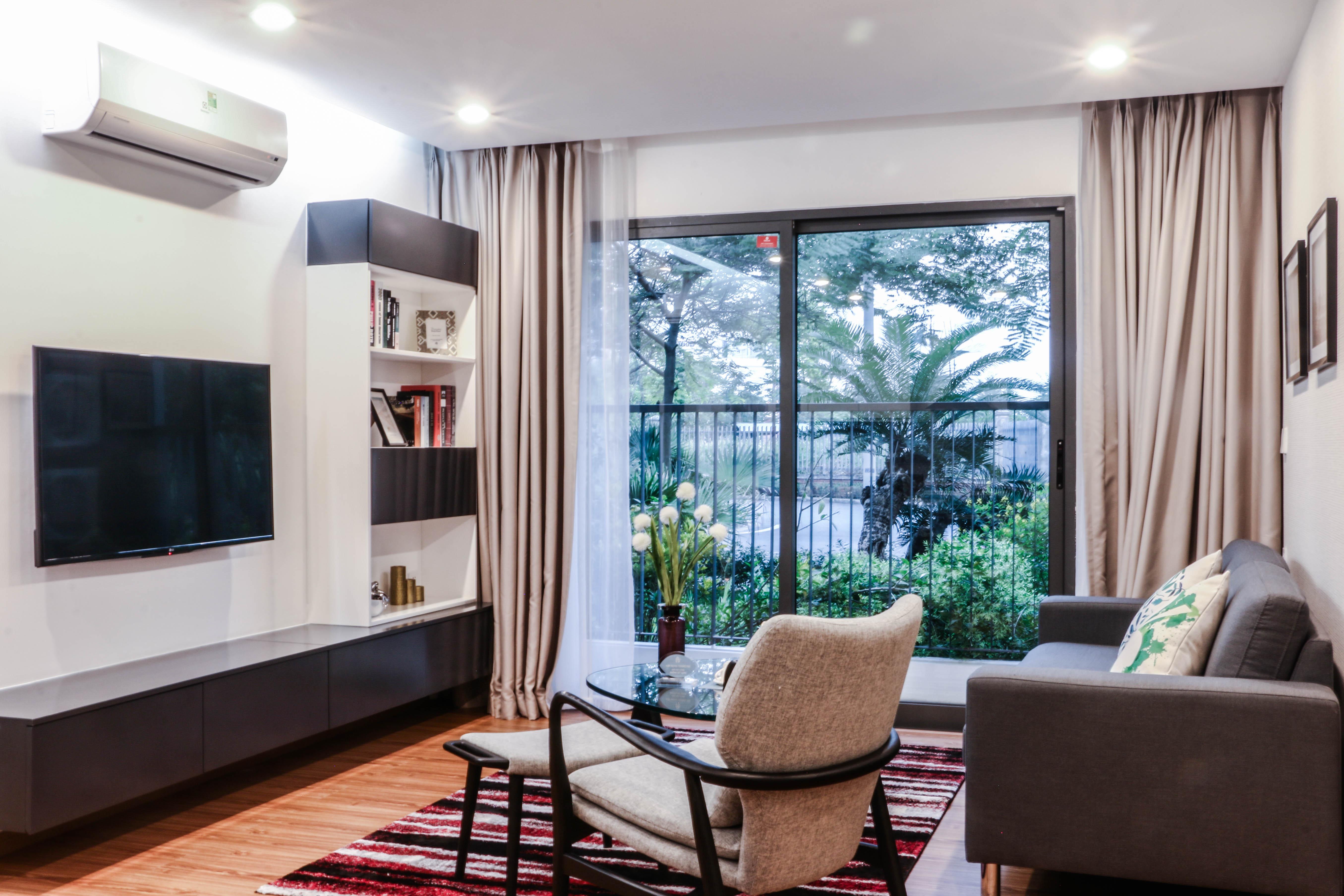 Hình ảnh thực tế căn hộ mẫu Hồng Hà Eco City.