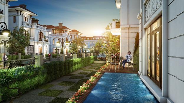 Phối cảnh một góc của dự án Embassy Garden.