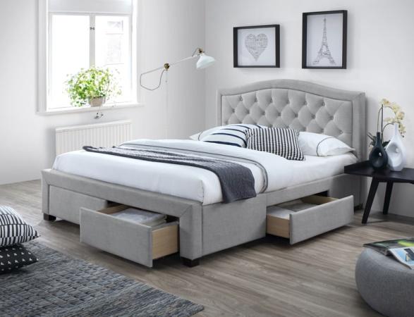 Giường ngủ thông minh giúp cất trữ đồ (ảnh nhaxinh.com).