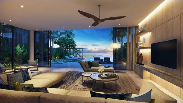 Thiết kế sang trọng của dự án Melia Hồ Tràm at The Hamptons.
