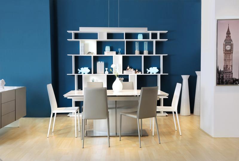 Phòng ăn hiện đại với tính năng mở rộng thông minh (ảnh nhaxinh.com).