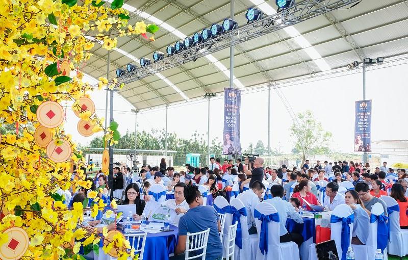 """Hơn 300 khách hàng tham dự """"Lễ mở bán và tri ân"""" dự án Bảo Lộc Capital giai đoạn 3 - Ảnh 2."""