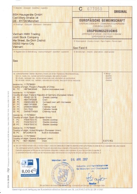 HMH Việt Nam phân phối chính hãng ngành hàng gia dụng Bosch tại Việt Nam - Ảnh 1.