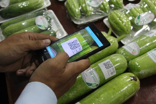 Truy xuất nguồn gốc thực phẩm bằng công nghệ quét mã QR Code - Ảnh 1.