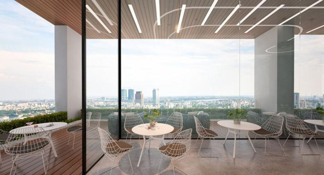 Dự án Riverside Garden - 349 Vũ Tông Phan khai trương khu Sky Garden - Ảnh 1.
