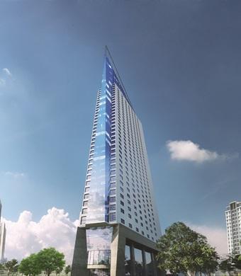 Chung cư Tháp Doanh Nhân: Sức hút từ căn hộ cao tầng sắp bàn giao - Ảnh 1.