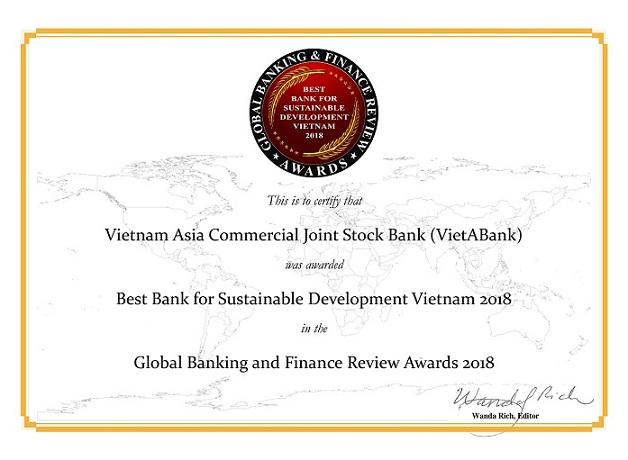 """VietABank đạt """"cú đúp"""" giải thưởng và những bước tiến mạnh mẽ - Ảnh 2."""