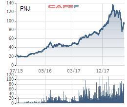 Bất chấp nhịp điều chỉnh mạnh của cổ phiếu, PNJ vẫn là một trong những doanh nghiệp niêm yết tốt nhất sàn chứng khoán Việt Nam - Ảnh 1.