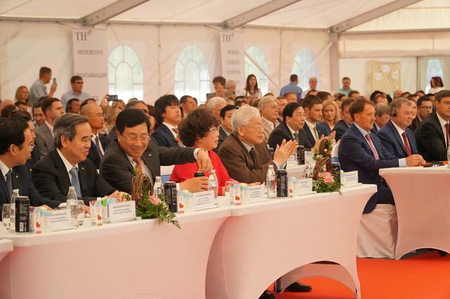 Bà Thái Hương nói về sự tự tôn dân tộc và tinh thần phụng sự khi khởi công nhà máy sữa lớn nhất nước Nga - Ảnh 1.
