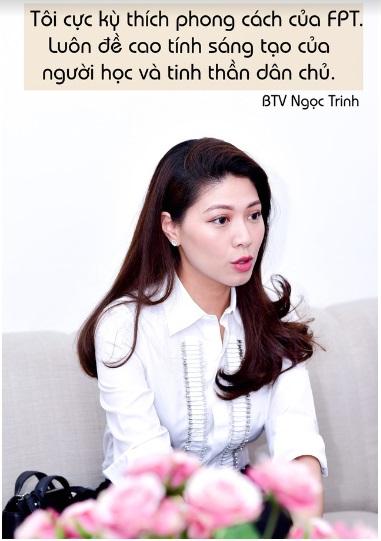 """BTV Ngọc Trinh nhận học bổng MBA dành riêng cho """"thủ lĩnh tài năng"""" - Ảnh 1."""
