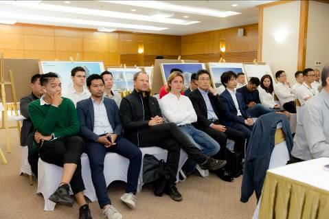 Tập đoàn Nam Cường tìm ý tưởng quy hoạch và phương án Kiến trúc khu Khách sạn 5 sao và Cao tầng HH1 - Ảnh 1.