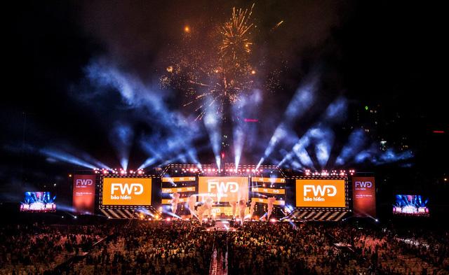 FWD Music Fest xứng đáng là lễ hội âm nhạc hoành tráng của năm - Ảnh 7.