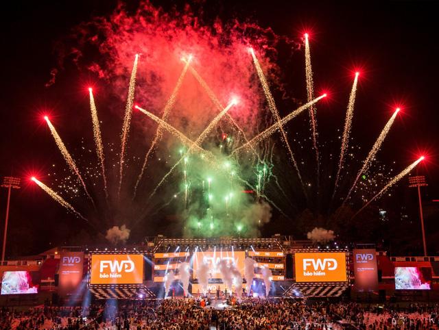FWD Music Fest xứng đáng là lễ hội âm nhạc hoành tráng của năm - Ảnh 8.
