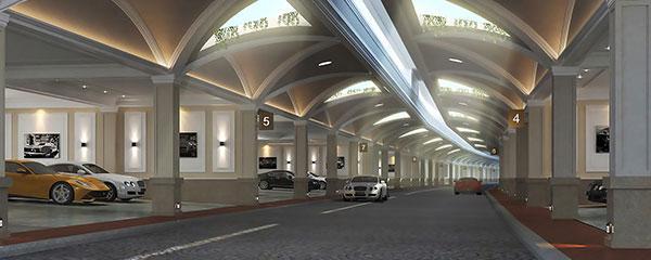 Khu villa sở hữu giao thông ngầm ở Hà Nội - Ảnh 1.