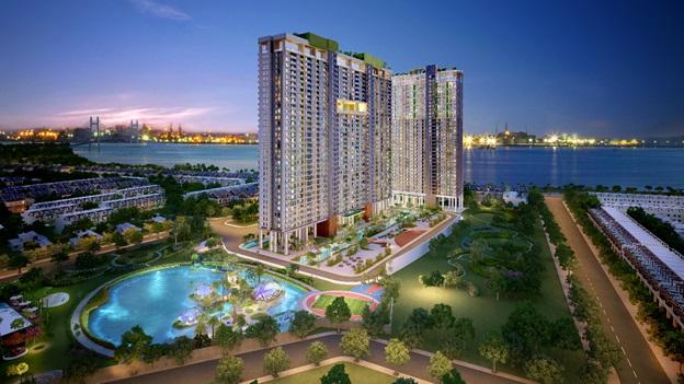 Cơ hội đầu tư căn hộ ven sông ngay trung tâm Nam Sài Gòn - Ảnh 1.