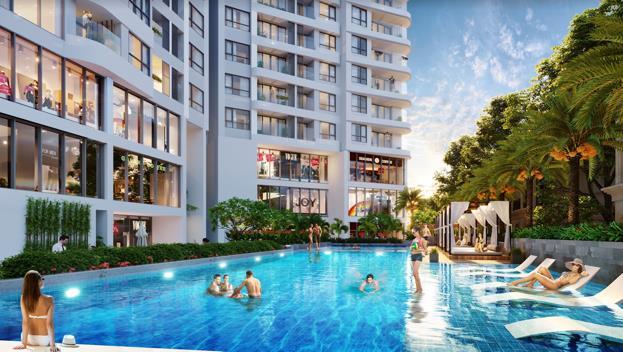 Cơ hội đầu tư 2 trong 1 căn hộ nghỉ dưỡng bên vịnh kỳ quan - Ảnh 1.