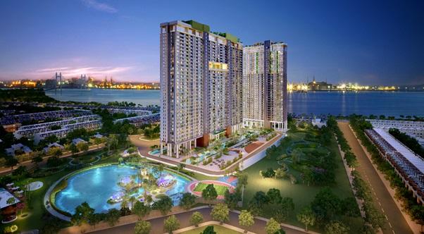 Nhà đầu tư chuộng căn hộ chung cư ven sông - Ảnh 1.