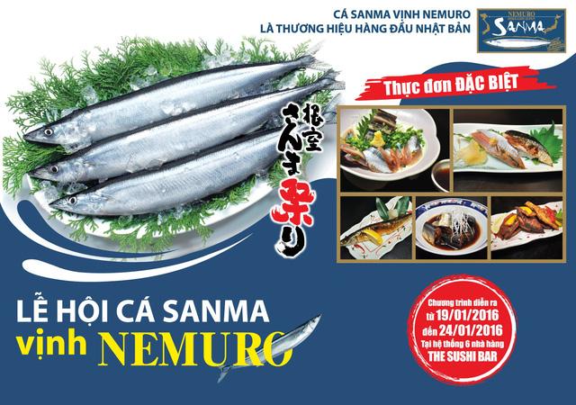 Khởi đầu năm mới với lễ hội cá Sanma tại Sushi Bar - Ảnh 2.