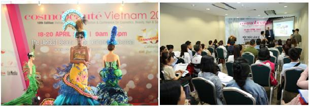 Triển lãm thương mại chuyên ngành làm đẹp quy mô lớn tại Việt Nam - Ảnh 3.
