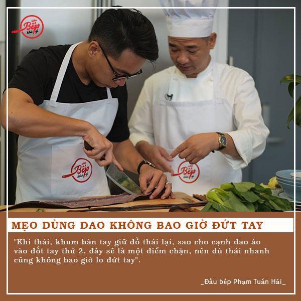 """Bật mí 8 mẹo nhỏ từ Master Chef Phạm Tuấn Hải trong chương trình """"Vào bếp khó gì"""" - Ảnh 2."""