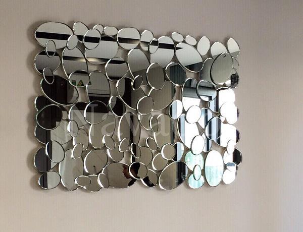 12 mẫu gương trang trí phòng khách sang chảnh - Ảnh 10.