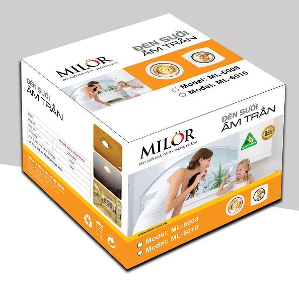 Đèn sưởi phòng tắm âm trần 1 bóng Milor – Công nghệ tiện nghi cho cuộc sống - Ảnh 5.