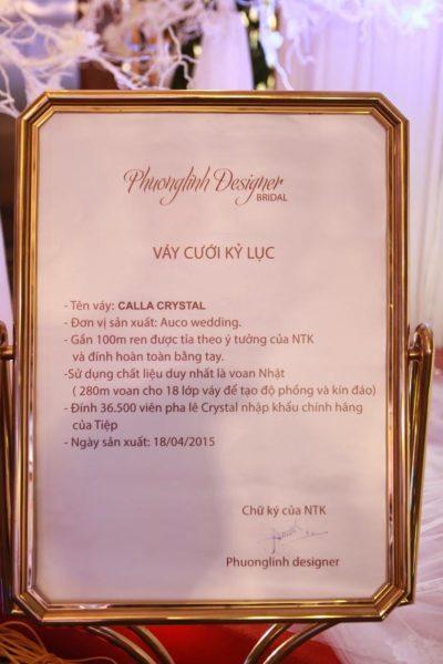 Calla Bridal và những con số làm nên thương hiệu Wedding dress hàng đầu Việt Nam - Ảnh 4.