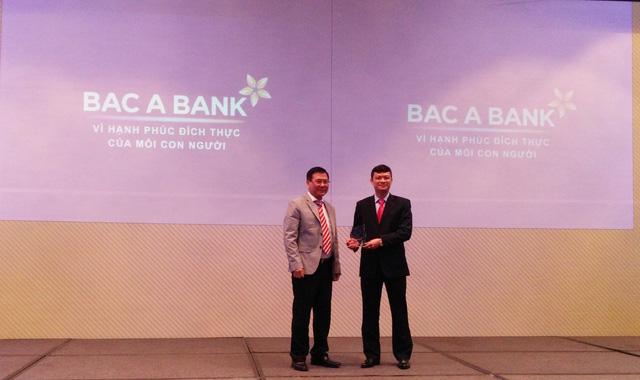 Sáng tạo giúp BAC A BANK giành giải thưởng lớn