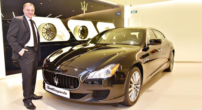 Chuyên gia Maserati mang dịch vụ chuẩn châu Âu đến Việt Nam